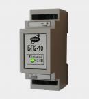 Импульсный блок питания БП2-10 24В мощность 10 Вт (вид збоку)