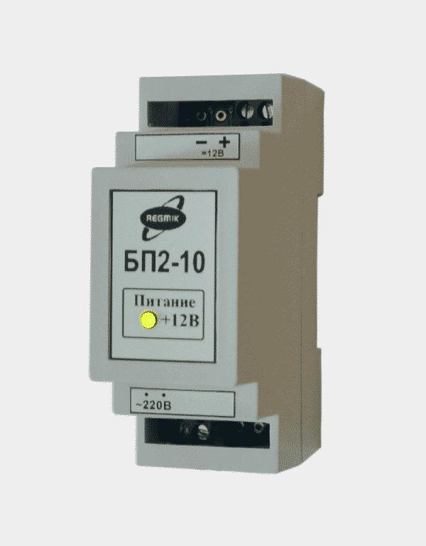 Блок питания БП2-10, мощность 10 Вт вид с боку
