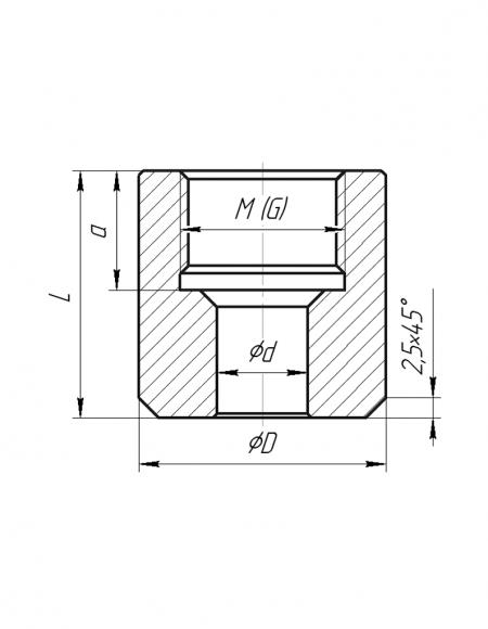 Бобышка (Модификация 001)