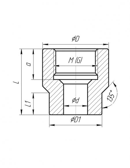 Бобышки (Модификация БПП-003) чертёж