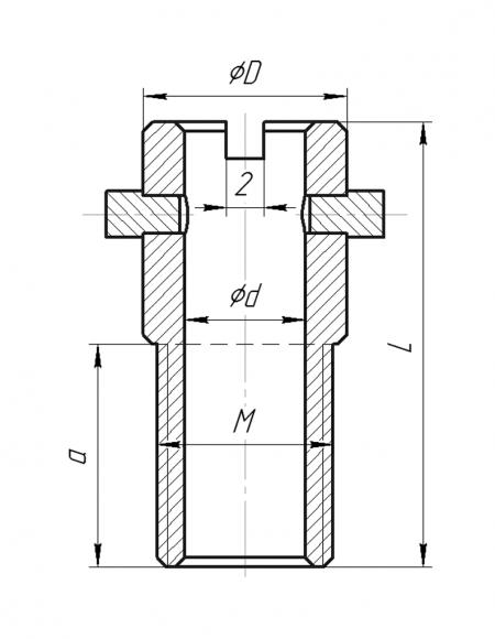 Бобышки (Модификация БПП-005) чертёж
