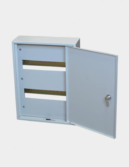 Предназначены для сборки распределительных электрощитов с использованием модульной аппаратуры открытый