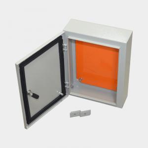 Применяться для установки оборудования нуждающихся в защите от влаги, пыли брызг.