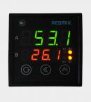 ПИД регулятор двухканальный (РП2-Щ) с дискретным выходом