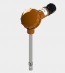 Датчик влажности и температуры цифровой Модификация ДВТц-001 большой карболитовой клеммной головкой
