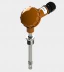 Датчик влажности и температуры цифровой Модификация ДВТц-002 большой карболитовой клеммной головкой