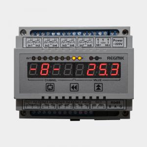 Регулятор двухпозиционный восьмиканальный программируемый (РД8) Д6 фронт