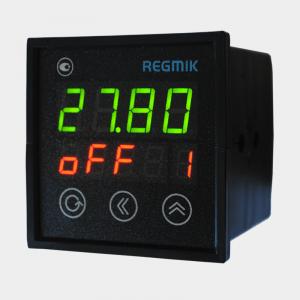 ПИД регулятор восьмиканальный (РП8-Щ) с дискретными выходами вид сбоку