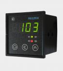 ПИД регулятор одноканальный с дискретным выходом с одним индикатором щитовой (РП1) вид сбоку