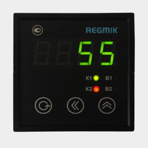 ПИД регулятор двухканальный с аналоговыми выходами (РП2)щитовой с одним индикатором