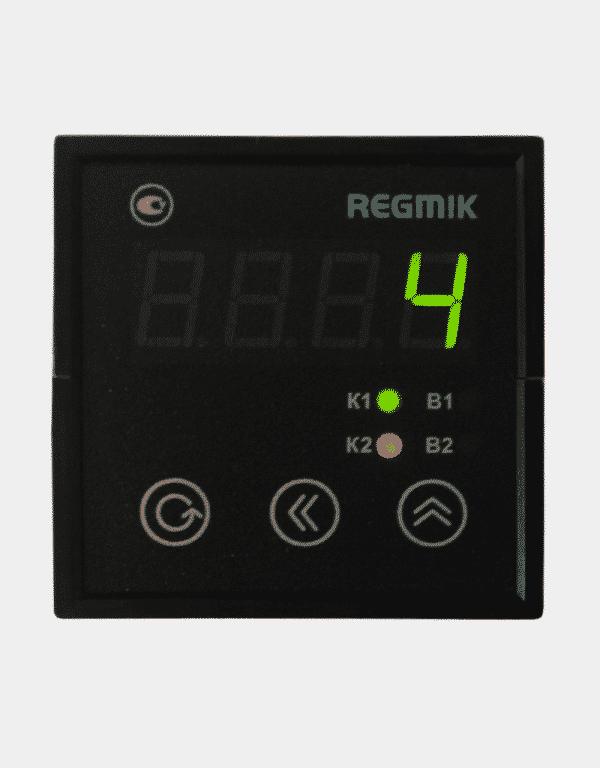 Счетчик импульсов двухканальный щитовой (СИ2) с одним индикатором