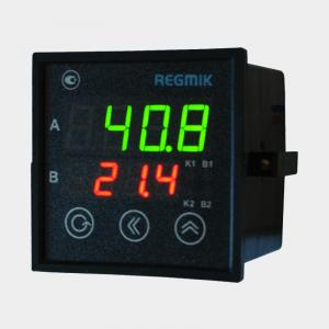 ПИД регулятор одноканальный с таймером (РП1-Т) вид сбоку