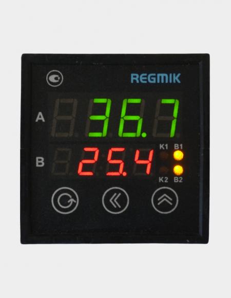 Регулятор двухпозиционный одноканальный (РД1)с двумя индикаторами