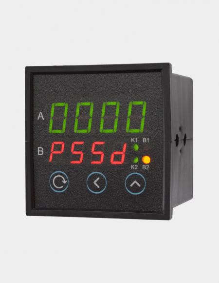 ПИД регулятор одноканальный с аналоговым выходом щитовой вид сбоку