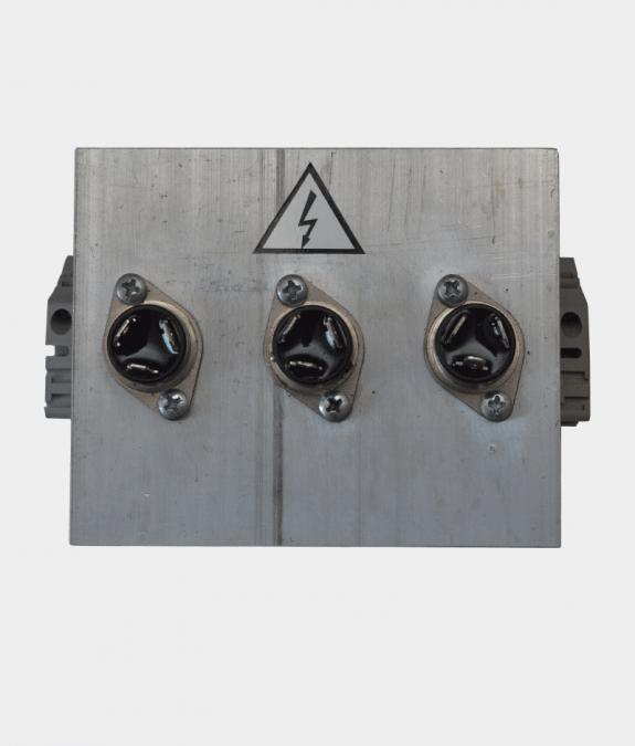 Симисторный блок 3-х фазный вид с переди
