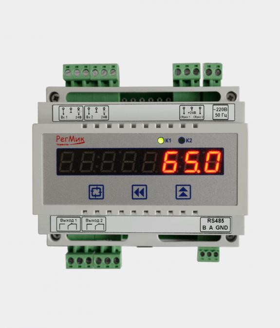Счетчик импульсов двухканальный восьмиразрядный (СИ2-8)