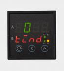 ПИД регулятор двухканальный с аналоговыми выходами щитовой (РП2) с двумя индикаторами