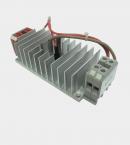 Блок симисторный БС1-40 на радиаторе вид с боку