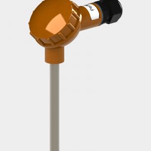 Датчик температуры с большой карболитовой клеммной головкой (Модификация 001)