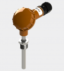 Датчик температуры с большой карболитовой клеммной головкой (Модификация 002)