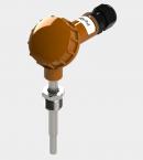 Датчик температуры с большой карболитовой клеммной головкой (Модификация 003)