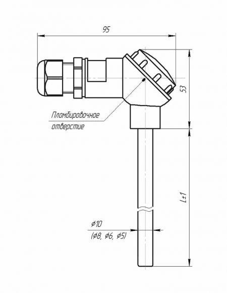 Комплект термопреобразователей сопротивления, подобранных пар (Модификация 001)