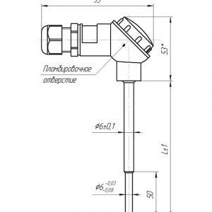 Чертеж КТСП (Модификация 001PL)