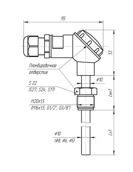Чертеж КТСП (Модификация 002)