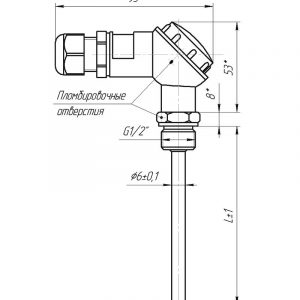 Чертеж КТСП (Модификация 002DL)